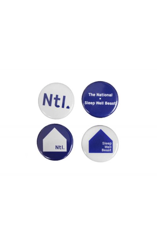 Badge Set of 4 by The National