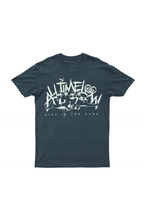 Kids In The Dark Grey Tshirt by All Time Low