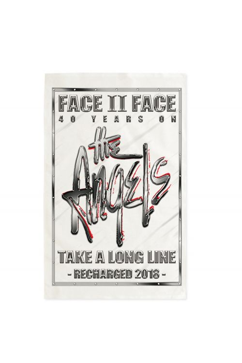 Face To Face/Take A Long Line Recharged Tour Tea Towel by The Angels