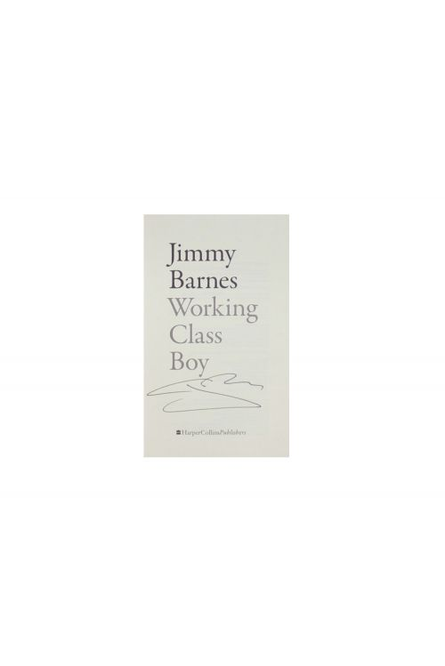 'Working Class Boy' Book - Signed Copy! by Jimmy Barnes