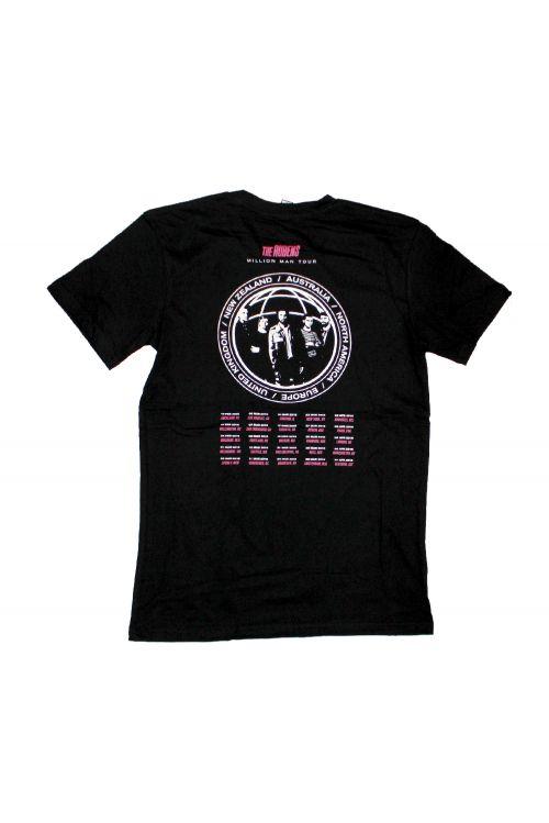 Million Man Tour Black Tshirt w/dateback by The Rubens