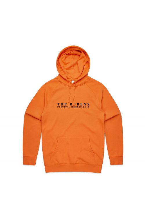 Festival Orange Hoody by The Rubens
