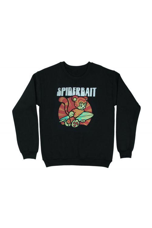 Summer Tiger Black Sweater by Spiderbait