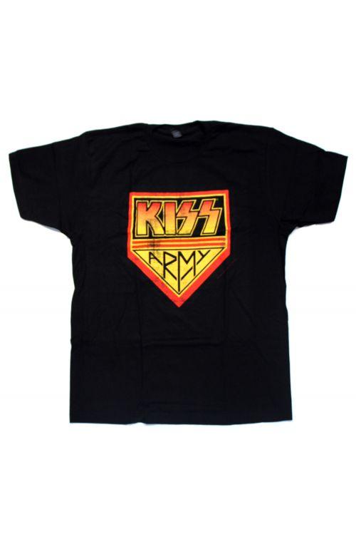 Army Black Tshirt by KISS