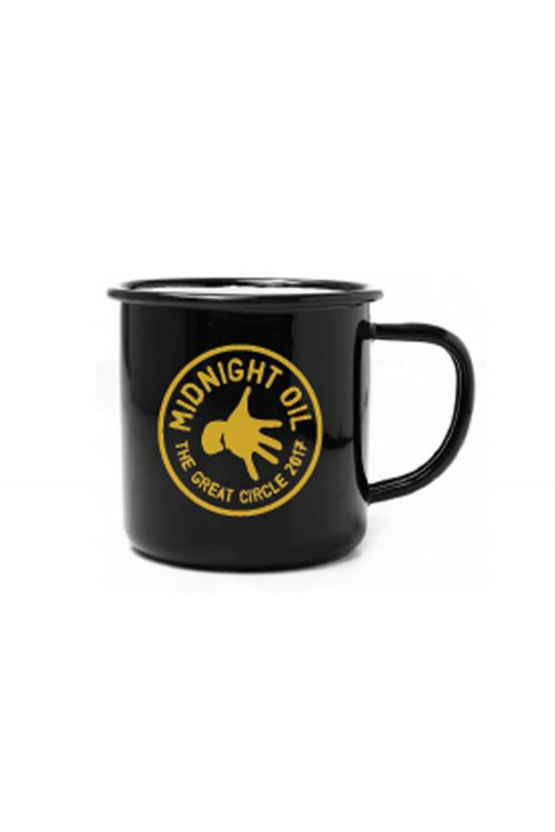 Enamel Mug Great Circle Tour 2017 by Midnight Oil