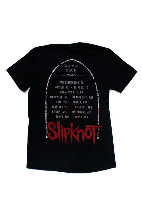 Alter Black Tshirt w/dates by Slipknot