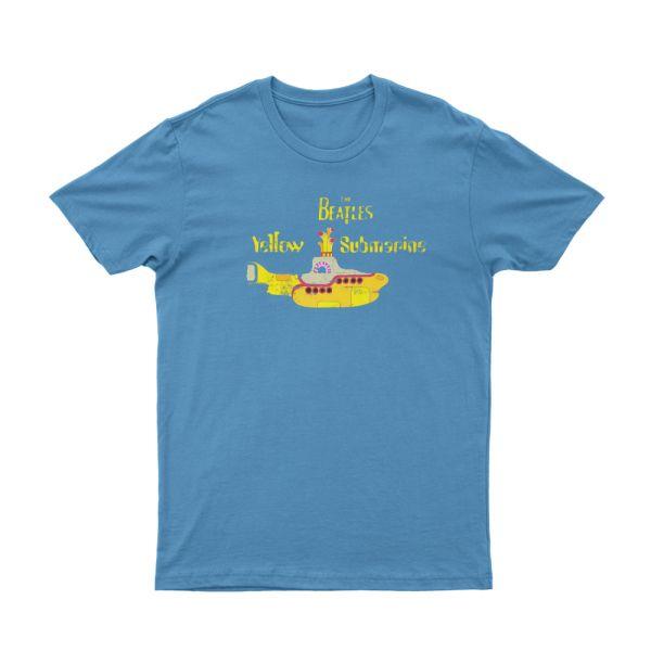 Yellow Submarine Light Blue Tshirt