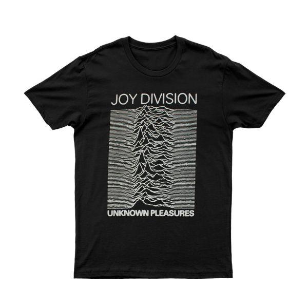 Unknown Pleasures Black Tshirt